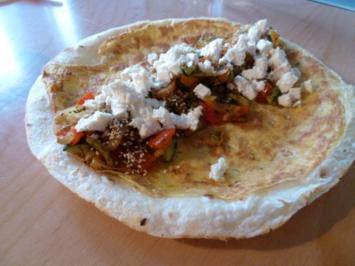 Rezept: Wrap mit indischem Touch