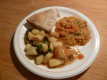 Auberginen-Kartoffel-Curry - Rezept