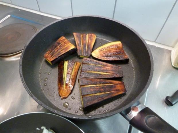 Auberginen mit indischem Touch - Rezept