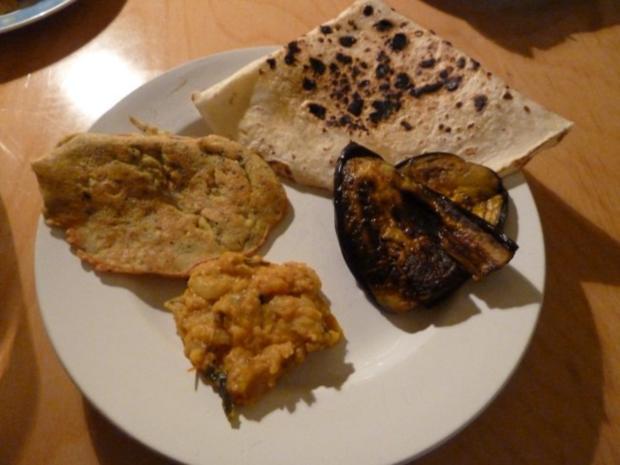 Auberginen mit indischem Touch - Rezept - Bild Nr. 4