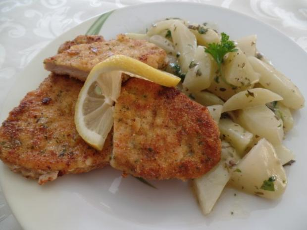 putenschnitzel mit kohlrabi rezept mit bild. Black Bedroom Furniture Sets. Home Design Ideas
