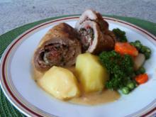 Gefüllte Schweine-Rouladen - Rezept