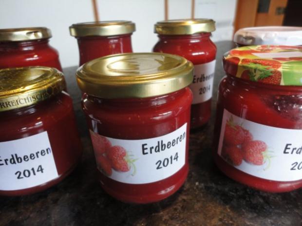 cremige Erdbeer Marmelade - Rezept - Bild Nr. 5