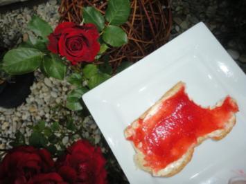 cremige erdbeer marmelade rezept mit bild. Black Bedroom Furniture Sets. Home Design Ideas