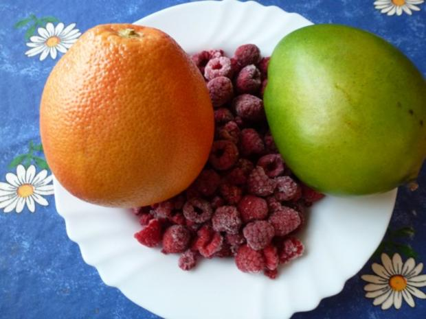 Ein 3 Früchte-Eis - Rezept