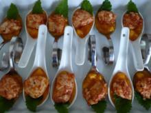 Hähnchen - Mango - Häppchen - Rezept