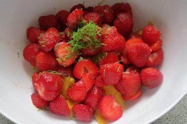 Einmachen: Mango-Erdbeer-Marmelade - Rezept