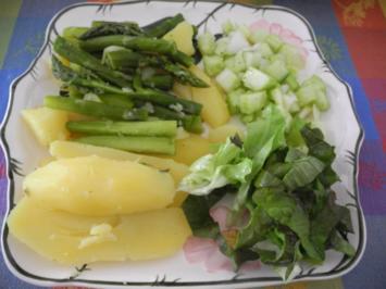 Vegan : Quartett auf dem Teller - Rezept