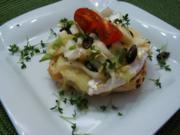 Camembert- Chicoree-Brötchen - Rezept