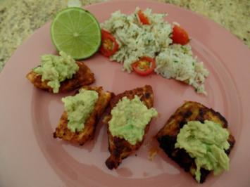 Mexiko-Fisch mit Guacamole - Rezept