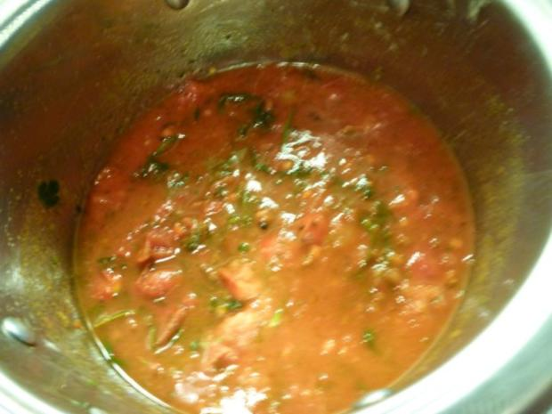 Meine würzige Lieblings Tomaten-Kräutersauce - Rezept - Bild Nr. 6