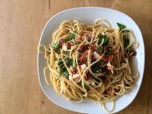 Spaghetti  die nach Sommer schmecken - Rezept