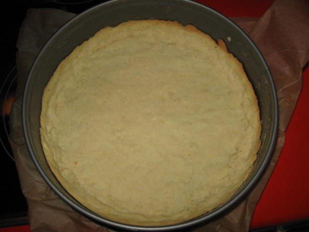 Buttermilch - Käsekuchen mit Rhabarber - Rezept - Bild Nr. 9