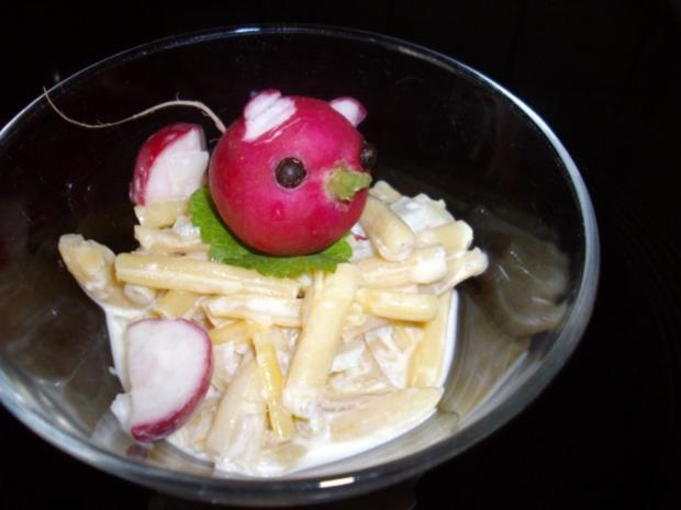 sommerlicher böhnchensalat - Rezept