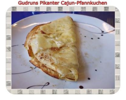 Fleisch: Pikanter Cajun-Pfannkuchen - Rezept