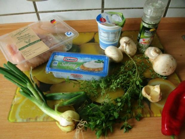 Hähnchen in Curry - Käsesauce - Rezept - Bild Nr. 2