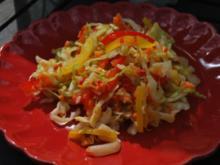 Chakalaka-Krautsalat - Rezept