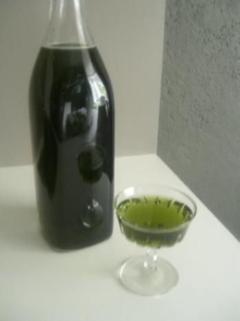 Minz-Likör - Rezept