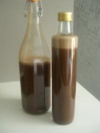 Schoko-Minz-Likör - Rezept