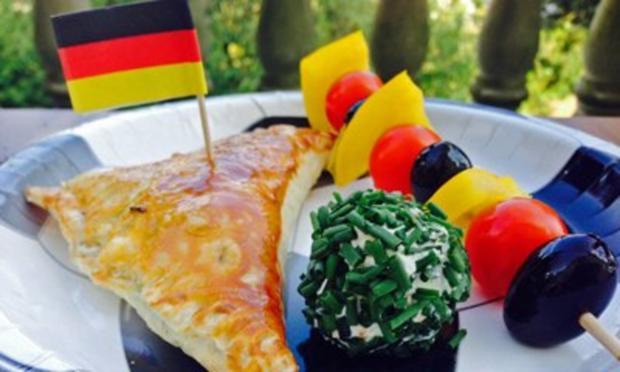 Drei WM-Snacks - Rezept