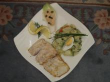 Victoriabarschfilet an Avocado-Kartoffelsalat - Rezept
