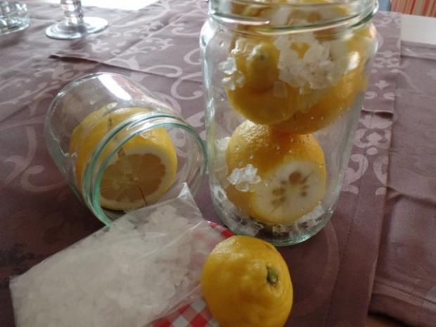 Gemüsesalat mit (selbst eingelegter )Salzzitrone - Rezept - Bild Nr. 2