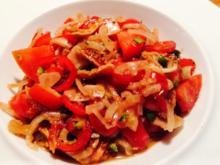 Tomatensalat Dalmatia - Rezept