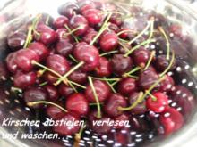 Kirschmarmelade ohne Zucker - Rezept