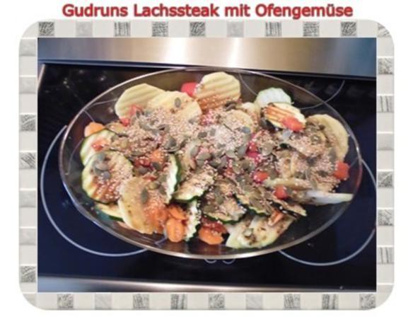 Fisch: Lachssteak mit Ofengemüse - Rezept - Bild Nr. 6