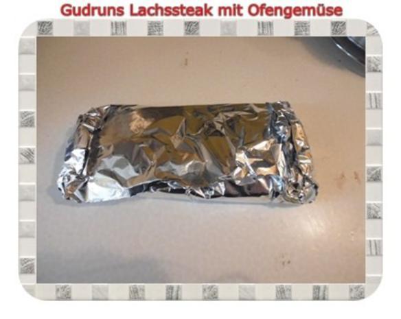 Fisch: Lachssteak mit Ofengemüse - Rezept - Bild Nr. 10
