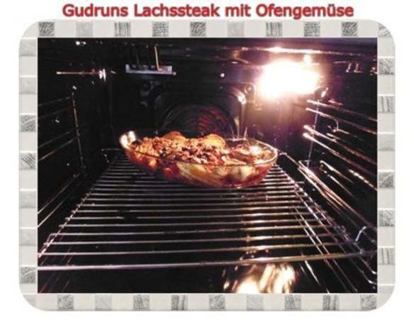 Fisch: Lachssteak mit Ofengemüse - Rezept - Bild Nr. 11
