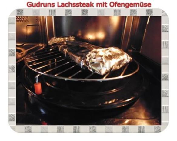 Fisch: Lachssteak mit Ofengemüse - Rezept - Bild Nr. 13