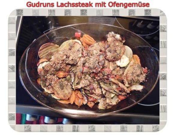 Fisch: Lachssteak mit Ofengemüse - Rezept - Bild Nr. 14