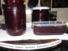 Sauerkirschen finden dunklen Balsamico und Pfeffer - Rezept