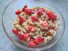 Frühstück: Hirse mit Obst - Rezept