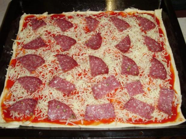 Pizzateig (schnell und einfach) - Rezept - Bild Nr. 3
