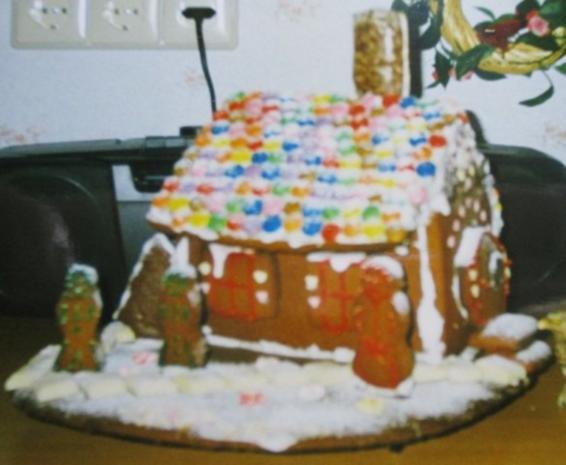 Pfefferkuchen Haus - Rezept