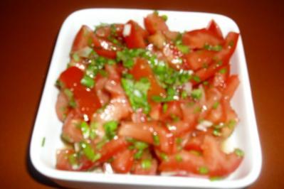 Elfenikes Tomatensalat - Rezept