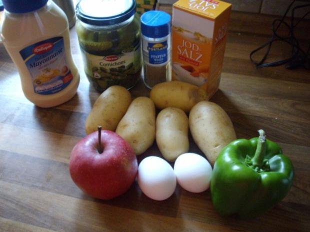 kartoffelsalat mit apfel - Rezept - Bild Nr. 2