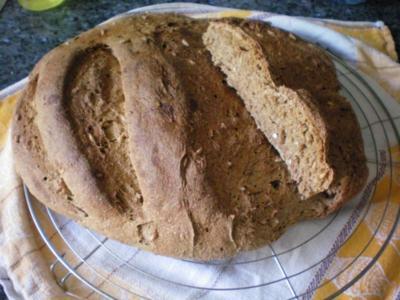 Brot: Vollkornbrot - Rezept