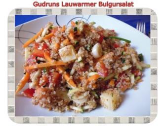 Salat: Lauwarmer Bulgursalat - Rezept
