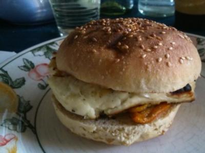 Veggi-Burger vom Kugelgrill - Rezept