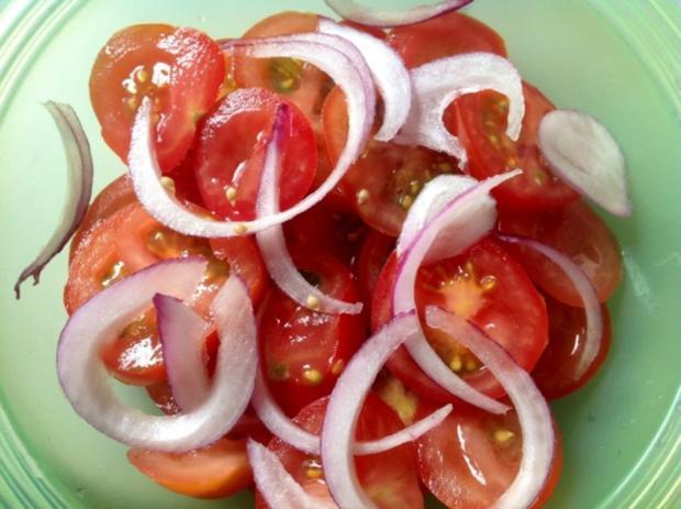 Tomatensalat mit Orangen Ingwer Dressing - Rezept - Bild Nr. 8