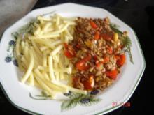 Paprika-Haschee - Rezept
