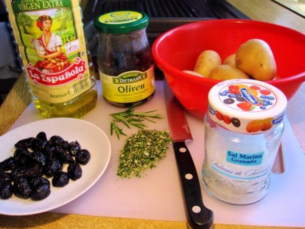 Rosmarinkartoffeln mit Grillfackeln - Rezept - Bild Nr. 3