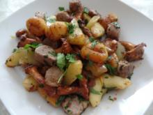 Gemüse-Pfanne mit Lammfilets - Rezept