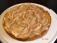 Mannheimer Apfelkuchen - Rezept