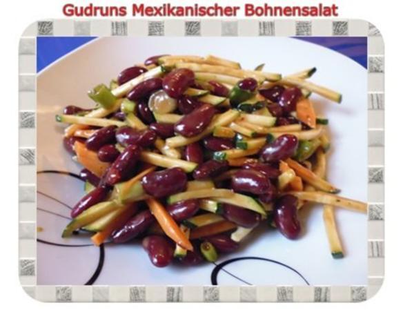 Salat: Mexikanischer Bohnensalat - Rezept