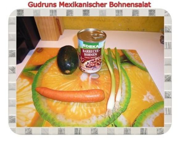 Salat: Mexikanischer Bohnensalat - Rezept - Bild Nr. 3