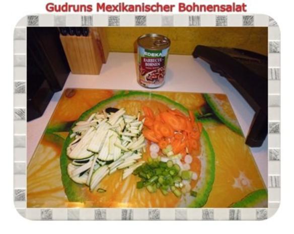 Salat: Mexikanischer Bohnensalat - Rezept - Bild Nr. 4